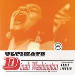 ultimate dinah washington - dinah washington