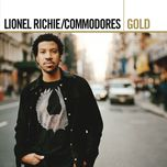gold - commodores, lionel richie