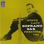 soprano sax - steve lacy