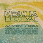 jack johnson & friends: best of kokua festival, a benefit for the kokua hawaii foundation - jack johnson