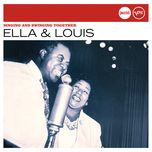 singing and swinging together (jazz club) - louis armstrong, ella fitzgerald