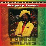 reggae greats - gregory isaacs