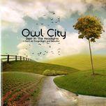 deer in the headlights (single) - owl city