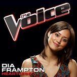 heartless (the voice performance) (single) - dia frampton