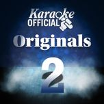 karaoke official: originals 2 - v.a