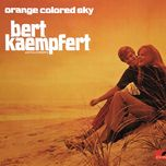 orange colored sky - bert kaempfert