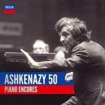ashkenazy 50: piano encores - vladimir ashkenazy