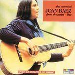 the essential joan baez live - the electric tracks - joan baez