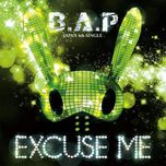 excuse me (japanese single) - b.a.p