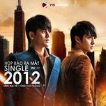 2012 (single) - ung dai ve, ong cao thang