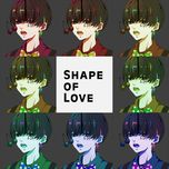 shape of love - hatsune miku, gumi