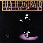 ella fitzgerald - first lady of song - ella fitzgerald