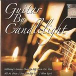 guitar by candlelight - guitar