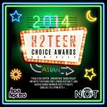 hang muc chau a - h2teen's choice awards 2014 - v.a
