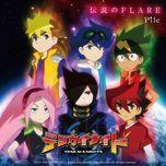 densetsu no flare (single) - pile