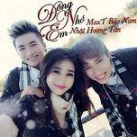 dong nho em (single) - khanh tan