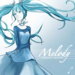 melody (single) - versequence, hatsune miku