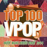 top 100 bai hat v-pop nhaccuatui duoc nghe nhieu nhat 2014 - v.a