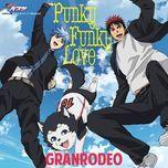 punky funky love (single) - granrodeo