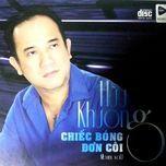 chiec bong don coi - huu khuong