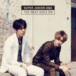 the beat goes on (mini album) - dong hae (super junior), eun hyuk (super junior)