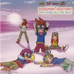 digimon history 1999-2006 all the best - v.a