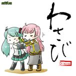 wasabi - chiquewa, hatsune miku, megurine luka