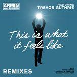 this is what it feels like (remixes) - armin van buuren, trevor guthrie
