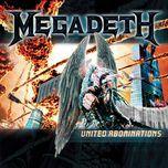 united abominations (japan edition) - megadeth