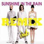 sunshine in the rain remix (single) - bwo