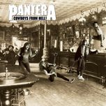 cowboys from hell - pantera