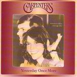 yesterday once more cd1/2 - the carpenters