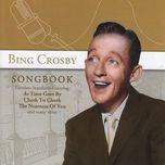 songbook - bing crosby
