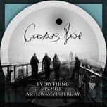 everything is not as it was yesterday - cuckoo's nest