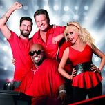 the voice us coaches (2013) - adam levine, christina aguilera, cee-lo green, blake shelton