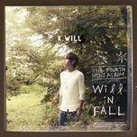 will in fall (mini album) - k.will