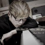 can them bao nhieu thoi gian (mini album) - trinh thien an