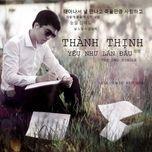 yeu nhu lan dau (single) - thanh thinh