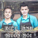 dieu anh muon noi (single) - tuy phong, ha huy hoang