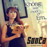 khong thuoc ve em (single) - son ca