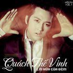 loi hua cua dem (2011) - quach the vinh