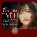 mot trai tim rat yeu (may bay ki su ost) (single) - cam van pham