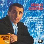 alleluia - original album 1962 (remastered 2014) - charles aznavour