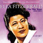 the war years (1941-1947) - ella fitzgerald