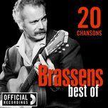 best of 20 chansons - georges brassens