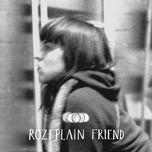 friend - rozi plain