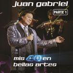 mis 40 en bellas artes (en vivo desde bellas artes, mexico/ 2013/ parte 1) - juan gabriel