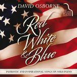 red, white & blue - david osborne