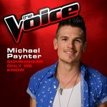 somewhere only we know (the voice 2013 performance) (single) - michael paynter