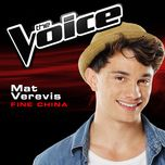 fine china (the voice 2014 performance) (single) - mat verevis